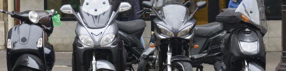 Antivol scooter
