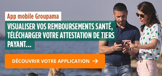 Application mobile Groupama