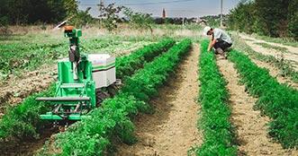 Assurance robot agricole
