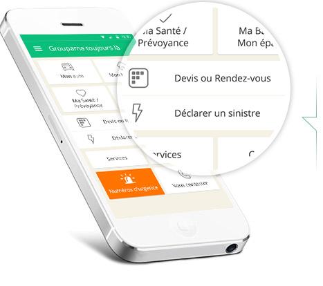 Application mobile Groupama toujours là