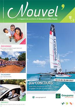 Couverture magazine Nouvel