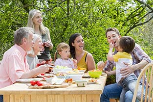 La famille, un moteur pour les personnes âgées