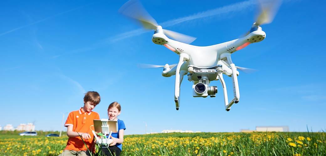 Drones de loisir : ce qu'il faut savoir